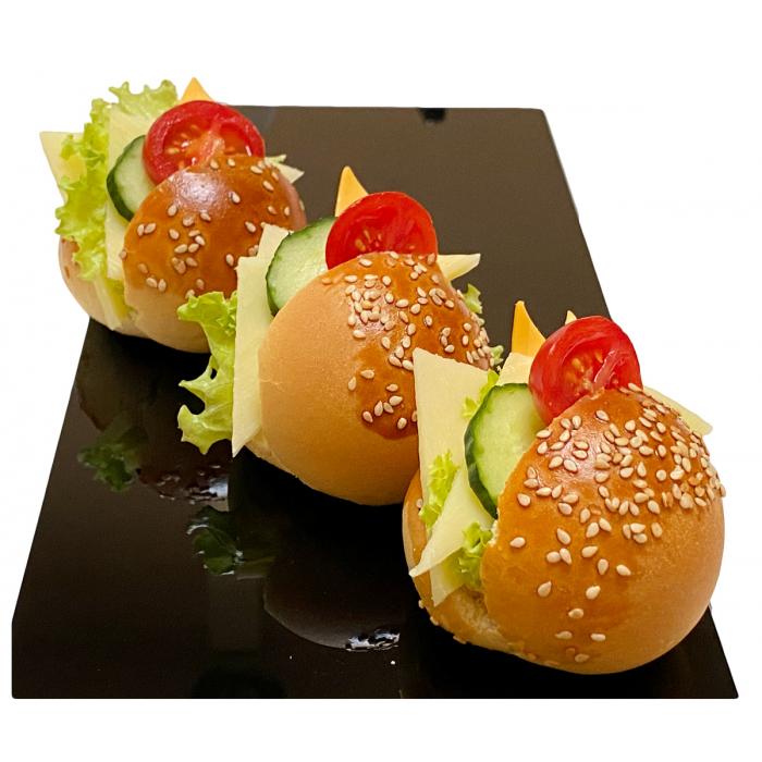 Мини сандвич вегетариански