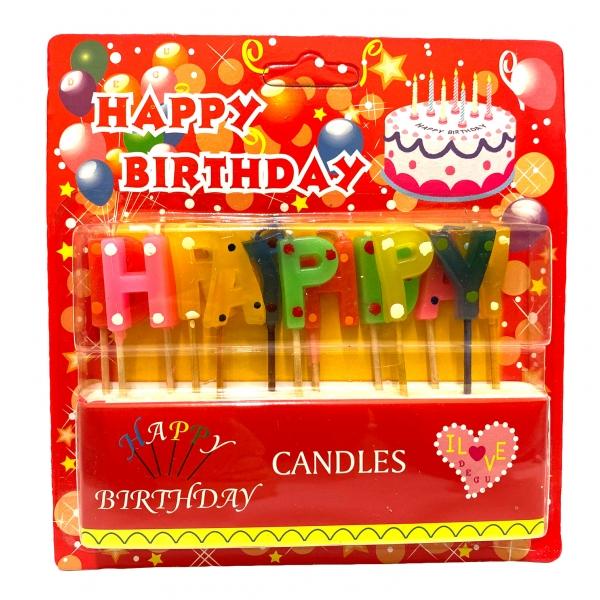 Букви Happy Birthday