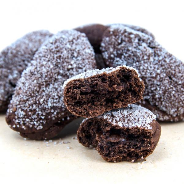 Бисквити с пълнеж шоколад