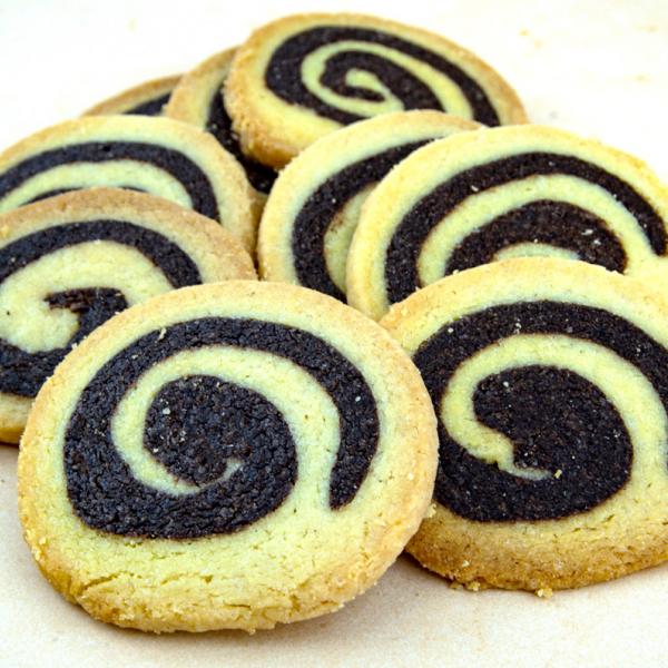 Бисквити спирала