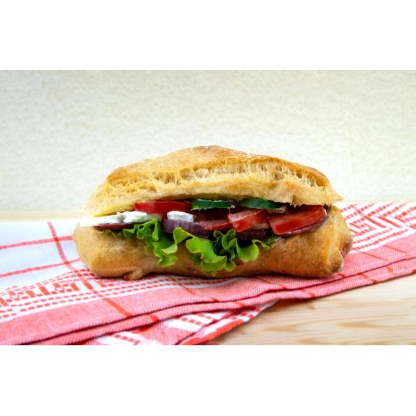Сандвич с луканка